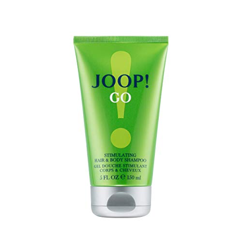 JOOP! Go! Shower Gel for him, Duschgel für Herren, mit holzig-fruchtigem Duft, für unkonventionelle Typen, 150 ml