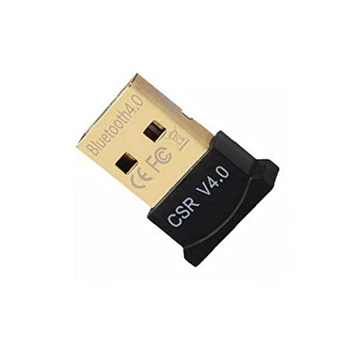 Ohomr Raspberry Pi Linux und Stereo-Headset kompatibel (schwarz) Bluetooth 4.0 USB Low Energy Micro Adapter Dongle für PC mit Windows 10/8.1/8/7 / Vista/XP