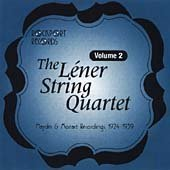 Hayden & Mozart Recordings 1924-1939 by Lener String Quartet
