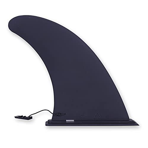 Quilla de Paddle Surf, Aleta de Tabla de Surf Hinchable, Plug-in Sup Fin, 9in, ABS