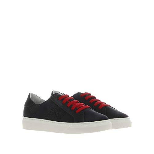 Hogan Sneaker R340 IN Suede BLU 39