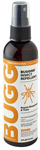 BUGGINS IV Performance Insect Repellent 25% DEET with a Fresh Clean Scent