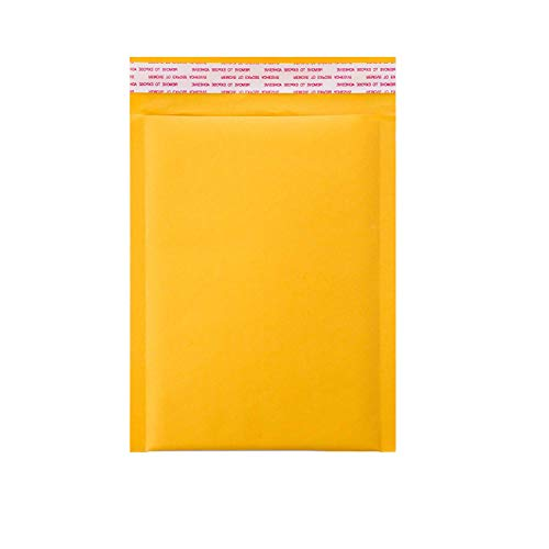 KKBESTPACK #0 25 6x9 inches Kraft Bubble Mailers Padded Shipping Envelopes