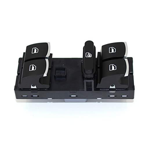 GESSIE WZ02 44 unids/set interruptor de control de ventana para Volkswagen VW Golf MK5 6 Jetta Passat B6 Tiguan Rabbit Touran 5ND 959 857 5ND 959 855 CH0408 (color: 5ND 959 857)