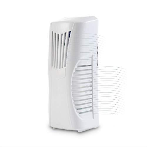 Dispensador Automático de Ambientador de Aire Montado en la pared / Independiente Dispensador de Perfumes de Fragancia con Frasco de 80 ML Baño Oficina Blanco