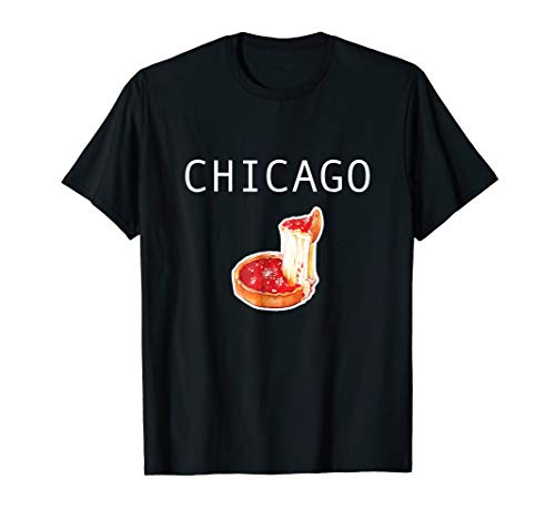 Chicago Style Deep Dish Pizza T-Shirt