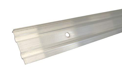Aluminum Wandanschlussprofil Kappleiste Alu Dach Abschluss Schiene (1500 mm)
