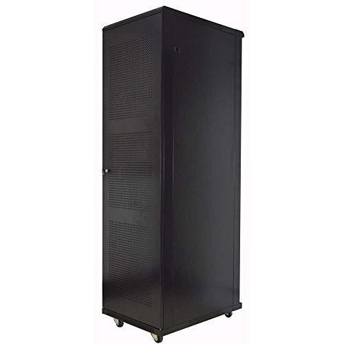 Armario rack 19' de pie 20U 600x800x1000mm negro MobiRack de RackMatic