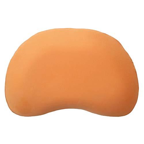 Edda Lux Bezug für Tempur Curve S/M Kissen | Jersey-Kissenbezug mit Reißverschluss | 61x40 cm | 100% Baumwolle | Farbe Orange