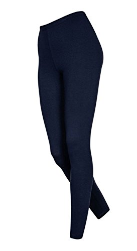 DeDavide Lange Damen Badmintonhose, Dunkelblau, XL