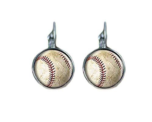 Baseball Ohrringe, Baseball Stars Ohrringe, Baseball, Baseball Zubehör, Baseball Müttern Jewelry