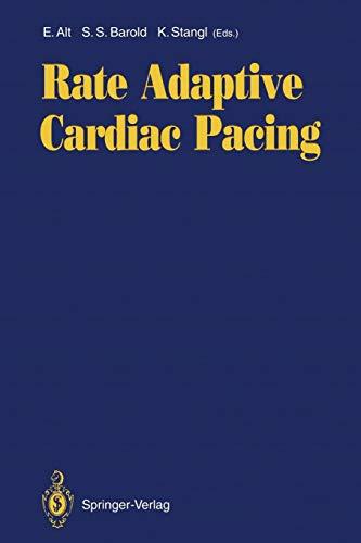 Rate Adaptive Cardiac Pacing