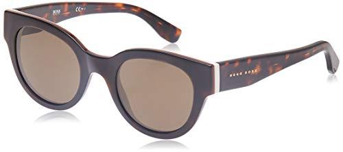 Hugo Boss BOSS0888S-0T98H-49 HUGO BOSS Sonnenbrille BOSS0888S-0T98H-49 Groß Sonnenbrille 50, Braun