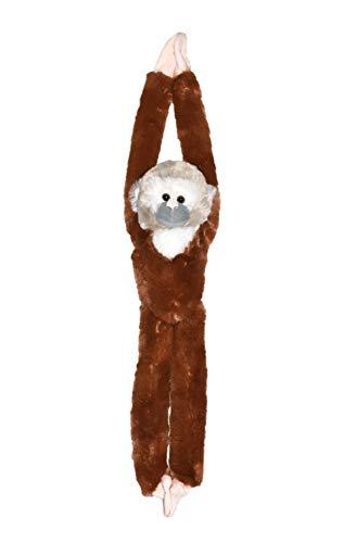 Wild Republic 15256 - Hanging Monkey Plüsch Totenkopfäffchen, 51cm