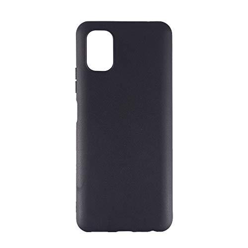 Shantime ZTE Blade V2020 Smart 8010 Case, Scratch Resistant Soft TPU Back Cover Shockproof Silicone Gel Rubber Bumper Full-Body Protective Case Cover for ZTE Blade V2020 Smart 8010 (Black)