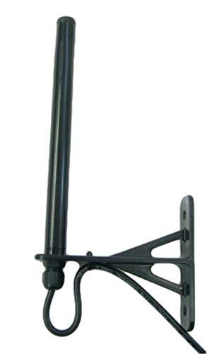 Alda PQ wetterfeste Antenne, Außenantenne zur Wandmontage für 4G, LTE, 3G, UMTS, 2G, GSM Mobilfunk Netze und Bluetooth, WLAN, WIFI mit SMA/M Stecker, 250cm, 2,5m Kabel, für innen oder Außenbereich einsetzbar