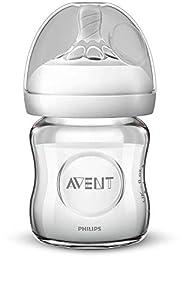 Philips Avent SCF051/17 - Biberón natural de cristal, 120 ml
