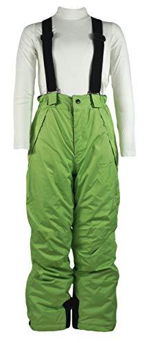 Generisch Jungen Kinder Skihose Wintersport Sporthose Schneehose Hose, Farbe:Grün, Größe:158/164