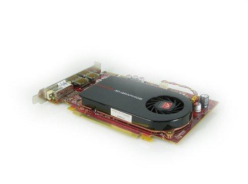 DELL ATI FIREPRO V3 V3750 FH Grafikkarte 256MB (inc VAT) K730M