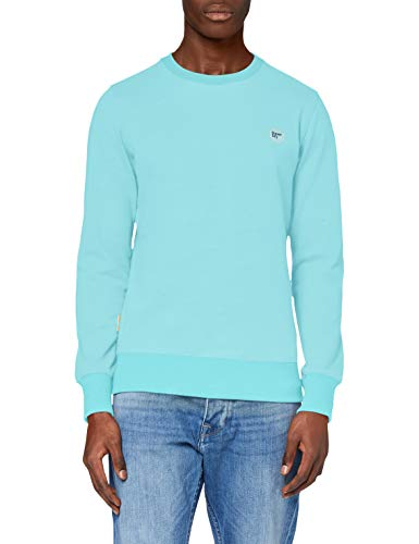 Superdry Herren Collective Crew Sweatshirt, Blau (Pool Blue BCZ), XXX-Large