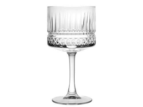 PASABAHCE Elysia Confezione 6 Calici Cocktail, Vetro, Trasparente, Cl 50