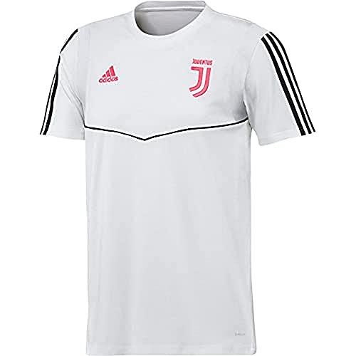 adidas Herren Juventus T-Shirt, White/Black, L, DX9132