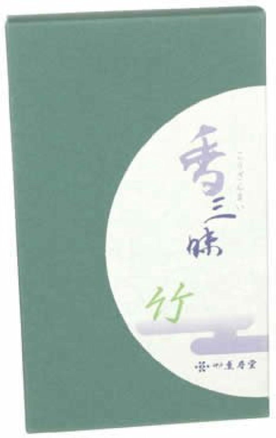 多様体ブランク透ける香三昧 竹