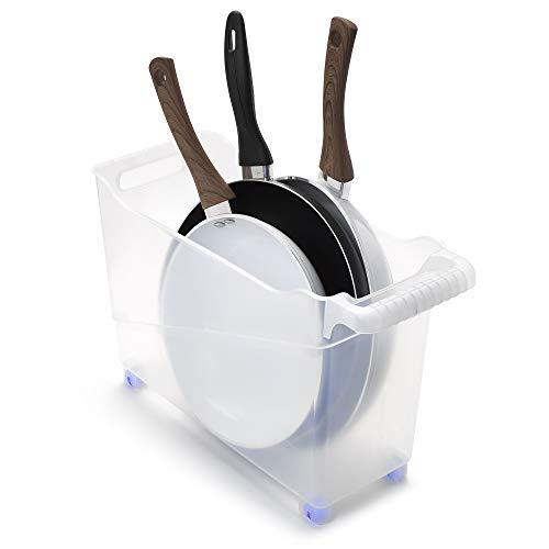 Plastic Forte Carrito Organizador Multiusos, 17x45x29