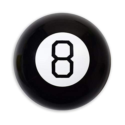 BRAND NEWS 10CM Magic Ball, Prophecy Magic Ball, Schwarz 8 Magic Requisiten, Perfektes Geschenkspielzeug Für Kinder