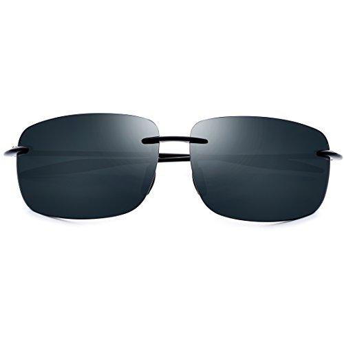XIAOTANBAIHUO Anteojos Gafas de sol de los hombres Gafas de sol de nylon de alta definición Deportes al aire libre Gafas de sol Gafas de sol Protección UV Gafas de seguridad