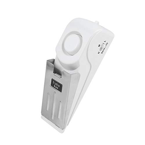 Alerta Antirrobo Antirrobo Robusto y Duradero Alarma de Seguridad de Acero Inoxidable Tope de Puerta Inteligente Diseño Antideslizante para el hogar