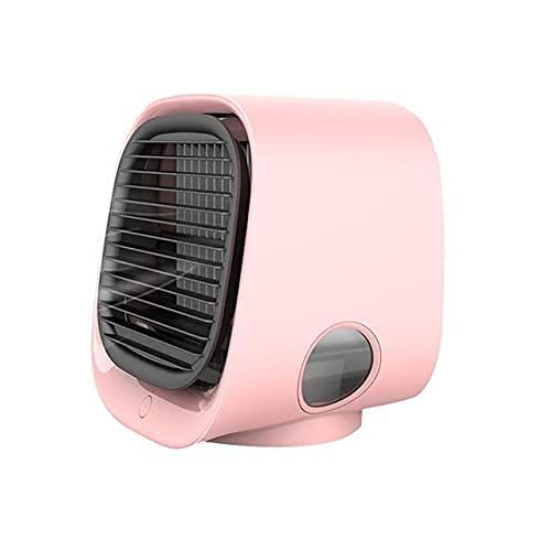 GJHK Mini aire acondicionado de iones negativos ventilador USB de aire frío, funcionamiento silencioso, rotación de ángulo de circulación de aire (color: C)