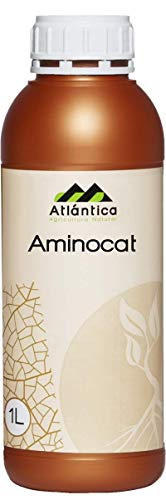 ATLANTICA AGRICOLA Aminocat Bioestimulante Loofah And Solution Of Amino Acids Handsfree With Npk For Plants Fruity, Vegetable Seed, Ornamental, Cultures And Vivariums - 1 L