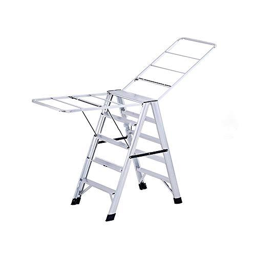 LLYU Escaleras de peldaño 4 5 6 7 peldaños escalera de aluminio...