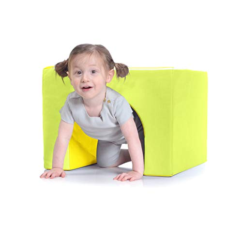 Milliard Soft Foam Toddler Tunnel - Fun Climbing Gym Toy for Indoor Soft Play for Children, Heavy Duty and Easy to Clean