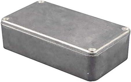 BOX ALUM BLACK 1.97