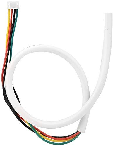 4 Núcleos Cable del Timbre, 30m 0.5mm² Cable de Cobre Flexible Redondo para Sistema de Videoportero