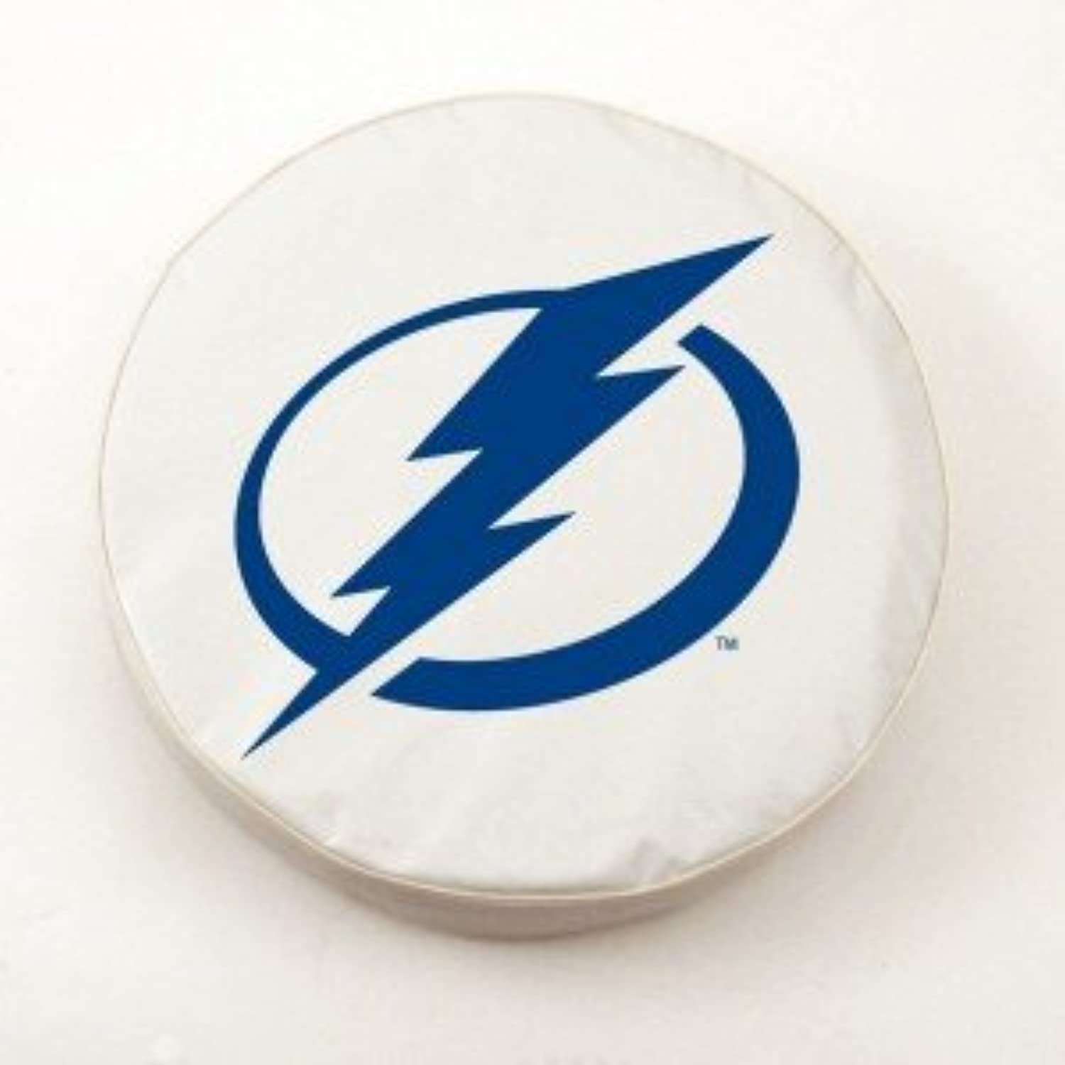 Tampa Bay Lightning White Tire Cover, Large