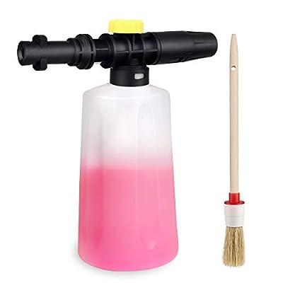 EAWONGEE Adjustable Snow Foam Lance Cannon Soap Generator for Karcher K2 K3 K4 K5 K6 K7 Pressure Washer Accessory from Eawongee
