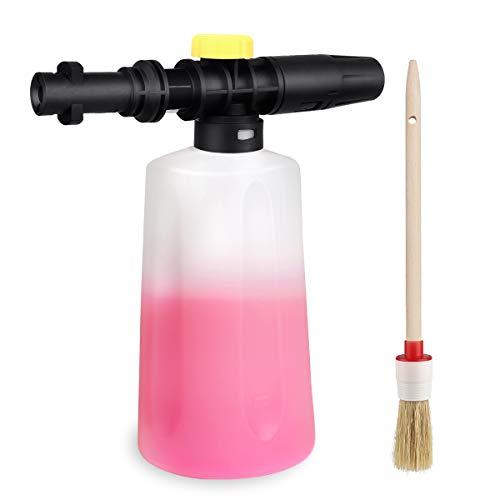 EAWONGEE Adjustable Snow Foam Lance Cannon Soap Generator for Karcher K2 K3 K4 K5 K6 K7 Pressure Washer Accessory