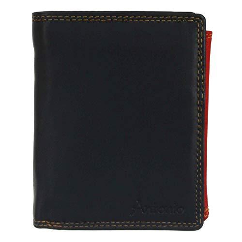 Antonio Geldbörse Hochformat Multicolor schwarz