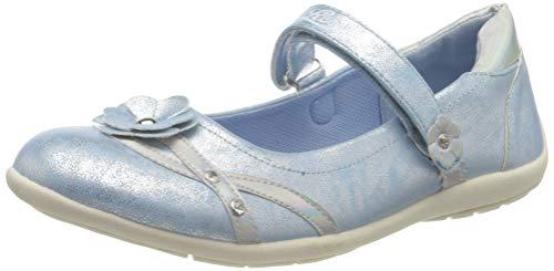 Lico Mädchen Mona V Geschlossene Ballerinas, Blau (Hellblau), 30 EU