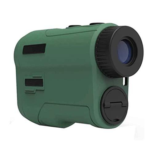 ZBQLKM Finder del rango de golf 6x, el telémetro láser de 700 yardas con el interruptor de la pendiente, la cerradura del asta de bandera y la función de velocidad, para la construcción al aire libre,