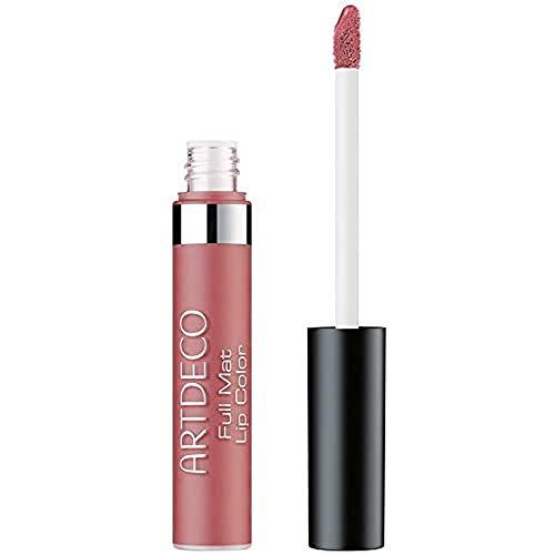 ARTDECO Full Mat Lip Color Long-Lasting, langhaltende Lippenfarbe für matte Lippen, Nr. 15, rose spirit