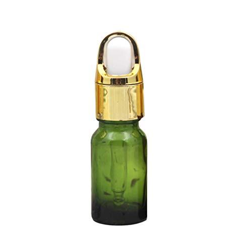 Haptian 10ml lege navulbare glas Dropper fles potten etherische olie parfum aromatherapie duidelijk flacon pot cosmetische monster container