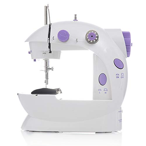 Lowest Price! CHENC Mini Sewing Machine, Portable Adjustable 2-Speed Electric Sewing Machine with Ex...