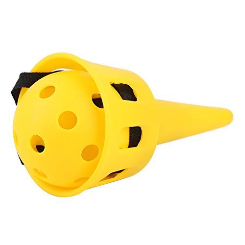 Alomejor Werfen Ball Werfen Und Fangen Spiel Kleine Ball Spiel für Kind Familie Sommer Garten Outdoor Aktivität(Gelb)