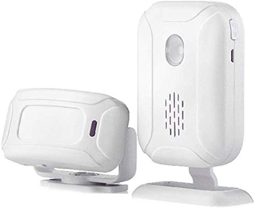 Détecteur mouvement, Moniteur d'alarme, Capteur infrarouge Alerte PIR, Système d'alarme sans fil, Système sans fil intelligent, Capteur d'alarme, Sécurité sans fil, Système d'alarme-113Db, Blanc