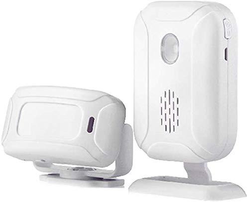Detector movimiento, Monitor alarma, Sensor infrarrojo alerta PIR antirrobo, Sistema alarma inalámbrico,...