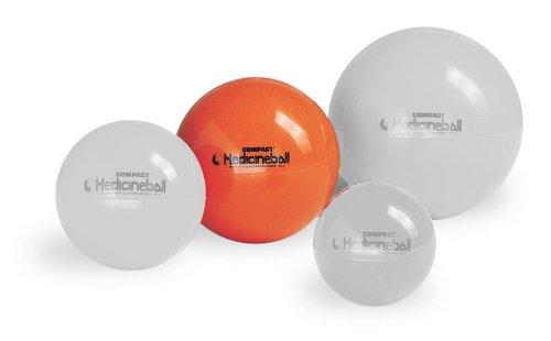 PEZZI Medizinball orange 3 kg Therapie Gymnastik Ball Fitness Gewichtsball Sport